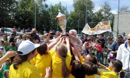 Giornata dello sport con le scuole primarie: vince Lucino