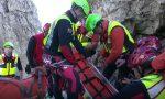 Una donna di Rovellasca soccorsa durante un'escursione in Valchiavenna