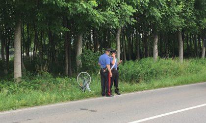 E' morta la ciclista investita in via Salvo D'Acquisto. FOTO