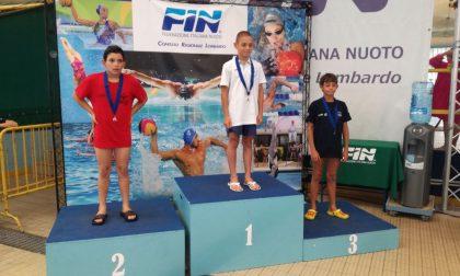 Esordienti Como Nuoto sul podio dei campionati Regionali
