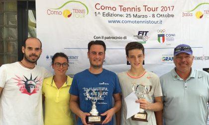 Il Como Tennis Tour incorona a Tavernola Matteo Megevand