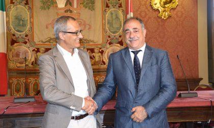 Mario Landriscina: cambio della guardia a Palazzo Cernezzi. VIDEO