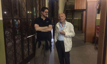 Elezioni a Cantù: l'onorevole Molteni al salone dei convegni. VIDEO
