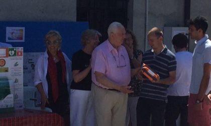Pusiano defibrillatore donato da Cuore in Erba