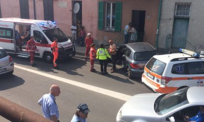 Incidente a Cassina Rizzardi, auto fuori strada