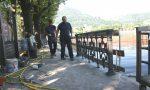 Lungolago di Como: il ritorno dello storico parapetto ottocentesco. FOTO