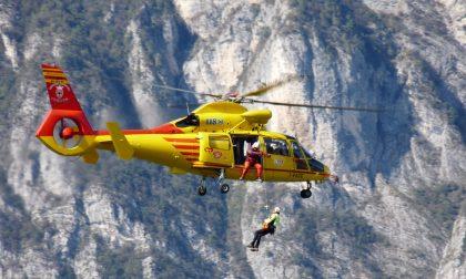Turista caduto a Garzeno: interviene il Soccorso Alpino