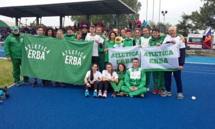 Atletica Erba, i risultati delle ultime gare
