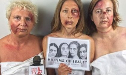 Violenza sulle donne: campagna shock con la Maroni