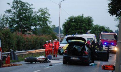 Motociclista morto a Cermenate in un grave incidente