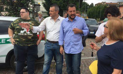 Elezioni di Como: Salvini e Cappellini a Como per Mario Landriscina