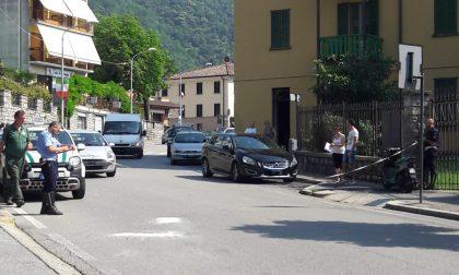 Scontro auto moto a Canzo, coinvolte tre persone