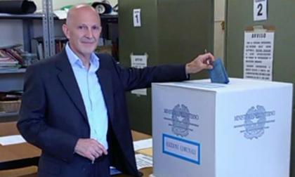 Elezioni a Cantù: Gianpaolo Tagliabue ha votato