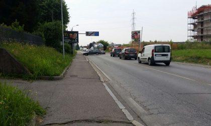Incidente a Cermenate, traffico in tilt