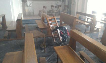 Incendio in chiesa appiccato da un pakistano