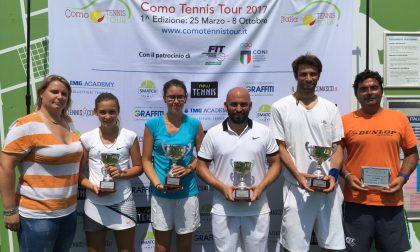 Como Tennis Tour a San Fermo: bis della Silvia Reina, Rotteglia profeta in patria. FOTO