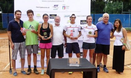 Tennis Tour a Cantù, triplete della Reina