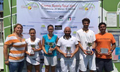 Como Tennis Tour proclama Reina e Rotteglia sovrani di San Fermo
