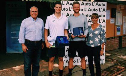 Alessandro Coppini cala il tris al Tennis Como