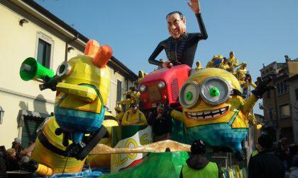 Carnevale Cantù figurine nelle edicole
