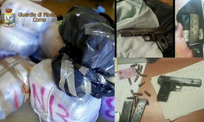 Operazione Sperem: arresti nel comasco e sequestro di droga e armi