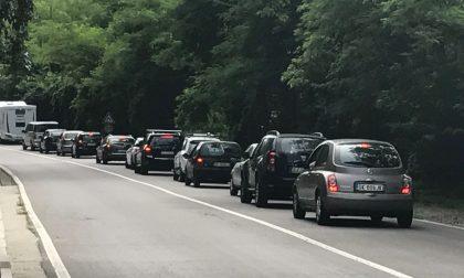 Incidente a Cantù, traffico su Corso Europa. VIDEO