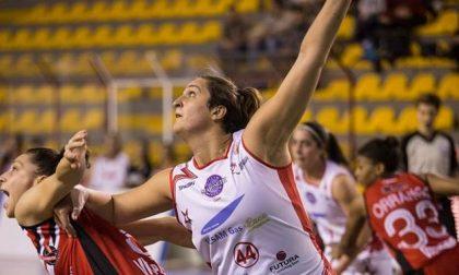 Basket femminile la pivot di Binago Valentina Gatti eliminata nei quarti da Valdarno