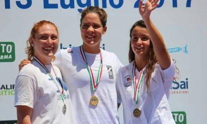 Valeria Cappelletti fa incetta di medaglie