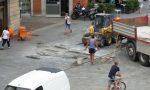 Piazza Garibaldi: proseguono i lavori FOTO