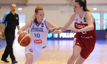 Basket femminile la canturina Del Pero in azzurro va agli Europei