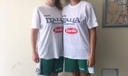 Basket Femminile Bea Del Pero e Lalla Meroni verso gli Europei U16