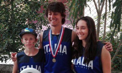 Ultimate frisbee: l'Italia trionfa agli Europei con tre atleti comaschi. FOTO