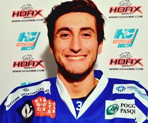 Hockey Como, Riccardo Codebò torna a giocare con la maglia del team biancoblù