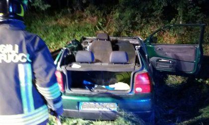Incidente a Inverigo: due donne estratte dalle lamiere. FOTO
