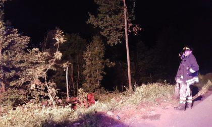 Uomo incastrato nel trattore: l'intervento dei Vigili del fuoco. FOTO
