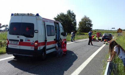 Ciclista cade a Cermenate: è gravissimo