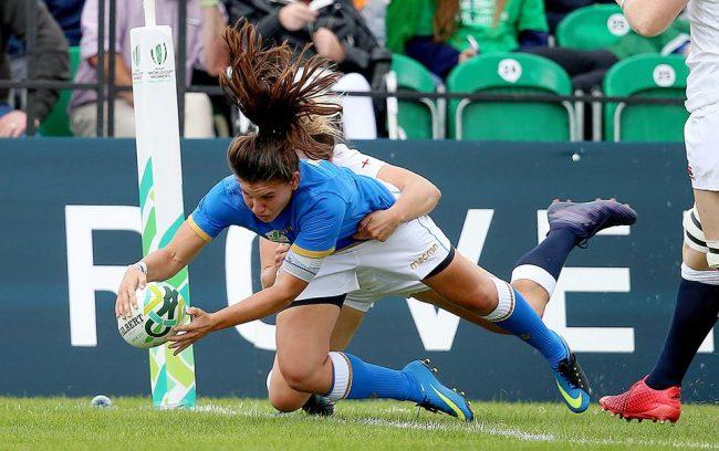 Rugby donne Maria Magatti infortunata