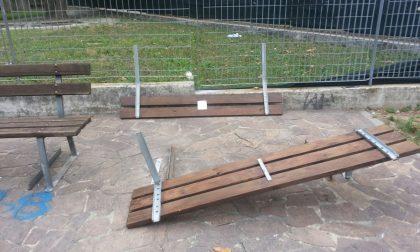 Tavernerio, vandali al parco di via Risorgimento