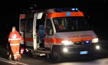 Incidente a Carugo SIRENE DI NOTTE