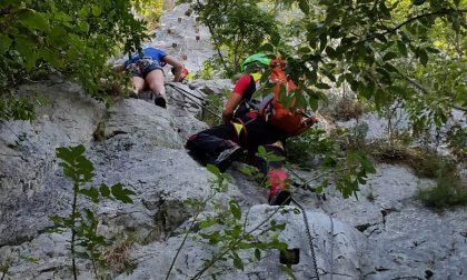 Soccorsa sui monti: salva giovane comasca