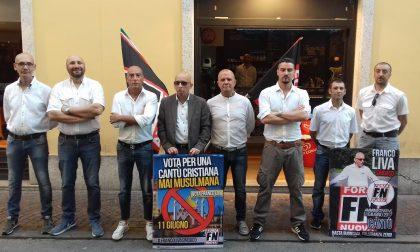 Arriva la petizione contro la festa di Forza Nuova a Cantù