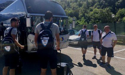 Pallacanestro Cantù a Chiavenna: prende il via il ritiro