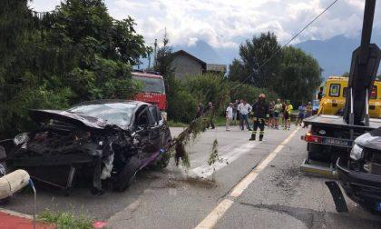 Maxi incidente a Sorico: dieci persone coinvolte