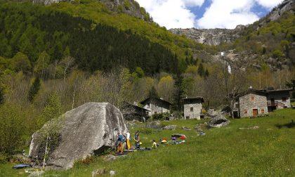 Brutta avventura per dei cabiatesi soccorsi in Valmasino