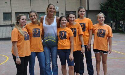 Albese Volley, le baby incontrano Maurizia Cacciatori