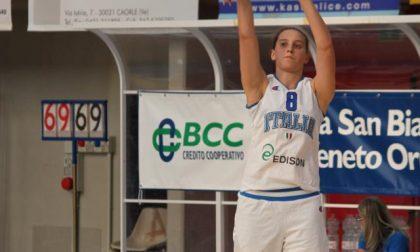Basket femminile, l'assese Laura Spreafico non convocata per la gara contro la Romania