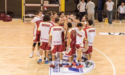 Basket Serie C al via Erba e Cermenate in Gold