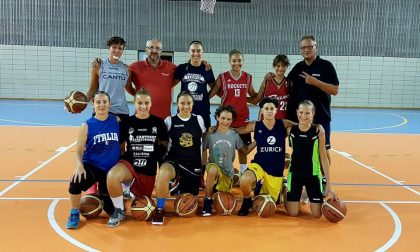 Basket Donne in campo Nonna Papera S. Ambrogio Mariano