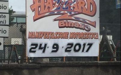 Hazzard caduta: intervengono i soccorsi