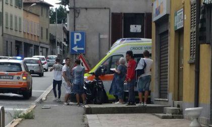 Incidente a Fino Mornasco, in ospedale due giovani